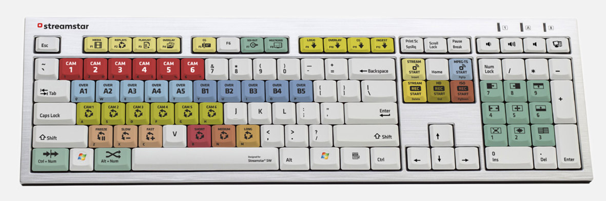 Streamstar KEYBOARD