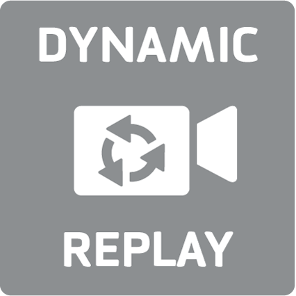 Dynamic replay camera switching