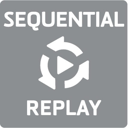 Sequential replay playback