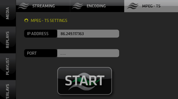MPEG-TS Streaming